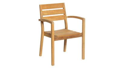 Aurora Stacking Chair FSC Teak