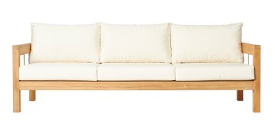 Traditional Teak MAXIMA loung bench 3-seater