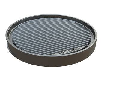 teppanyaki pan ribbed/smooth for Lotus Grill