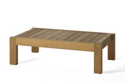 OASIQ MARO teak footstool (showroom)