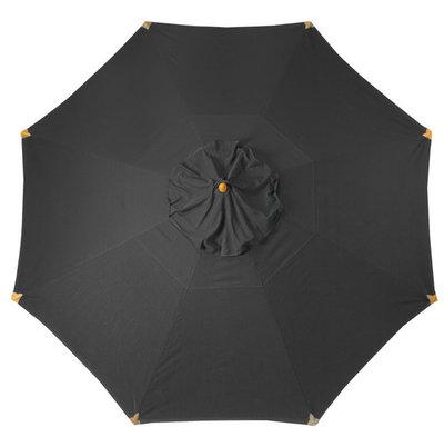 Umbrella cloth Cortina black