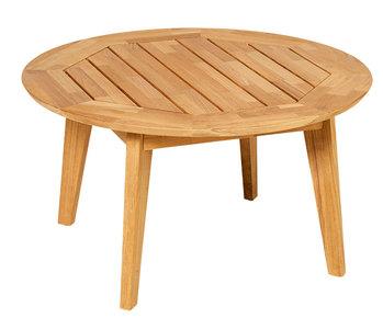 Traditional Teak DIANA MOSAIC coffee table Ø 80 cm